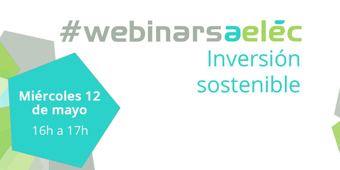 #webinarsAELEC:  «Inversión sostenible»
